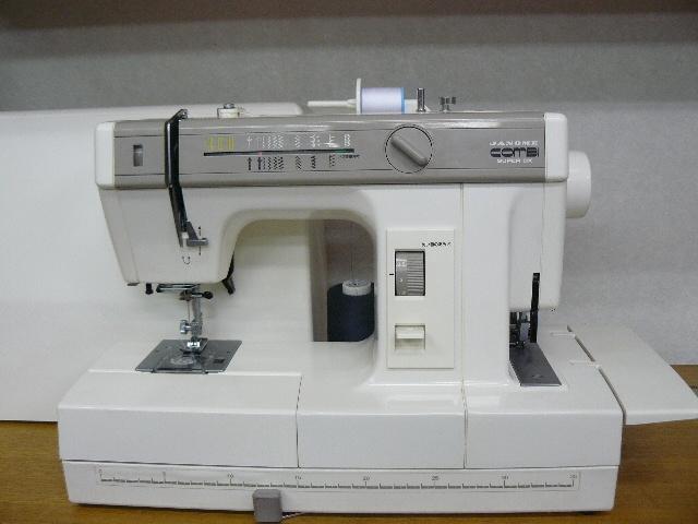 ロック付き 1台2役の ジャノメ COMBI SUPER DX  2100