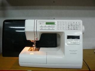 縫い目がきれいな ジャノメコンピューターミシン KTS550