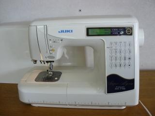 JUKI HZL-T7500 Super Myria  スーパー糸通し 糸切り