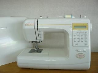 縫い目がきれいな ジャノメコンピューターミシン Diennu 3770