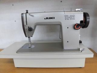 侍おすすめ 名機 JUKI 1本針本縫い職業用ミシン TL-82