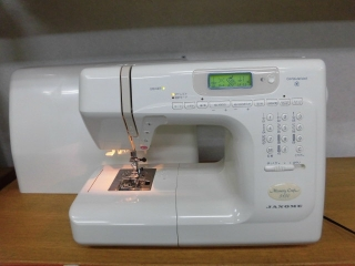 JANOME  Memory Craft 5150  縫いが良くてパワフル