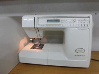 侍ミシン工房 JANOME 家庭用CPミシン 6650 縫い目抜群