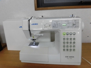 JUKI 家庭用コンピューターミシン HZL-7900  厚地縫い