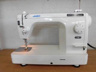 侍ミシン工房 JUKI 1本針本縫い職業用ミシン SPUR 98SP 糸切り