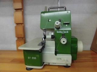 名機 ジューキ baby lock  EF-205  縫い目抜群