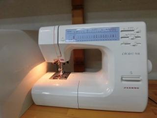 ★ JANOME 家庭用ミシン  plaire918 縫い目抜群