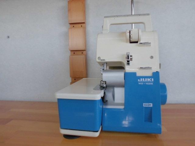 ◆ 名機  JUKI ロックミシン  MO-102S   2本糸