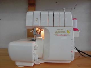 差動送り 4本ロック baby lock 糸取物語BL615DX  美品