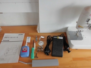 ★ JUKI 1本針本縫い職業用ミシン SPUR 25 ③