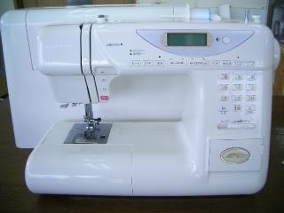 縫い目がきれいな ジャノメコンピューターミシン MOC21  MODEL840