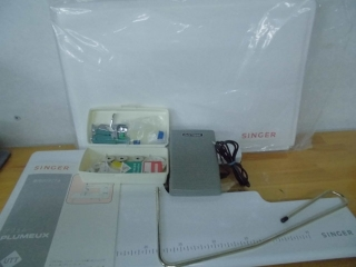SINGER 1本針本縫い職業用ミシン PLUMEUX  103UTT