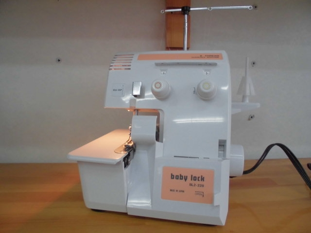 名機 ジューキ babylock  BL2-228  1年保証