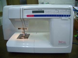 JANOME  LiRio 5000   縫いが良くてパワフル