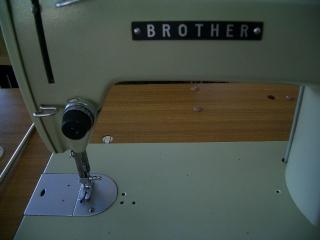 brother 1本針本縫い職業用ミシン TA2-B622 足踏み