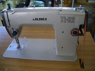 JUKI 1本針本縫い職業用ミシン TL-82 足踏み