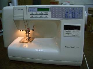 縫い目がきれいな ジャノメコンピューターミシン Sensor Craft 7505