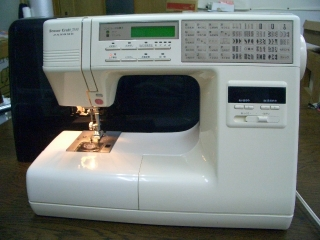 縫い目がきれいな ジャノメコンピューターミシン Sensor Craft 7510