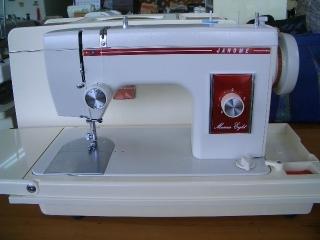 縫い目がきれいな 直線ミシン ジャノメ マリーナ 8  ②